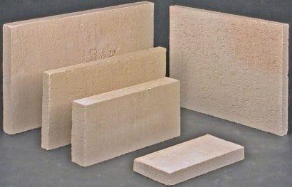 Kamnářský kordieritový šamot 250×123×20 mm Seeif Ceramic