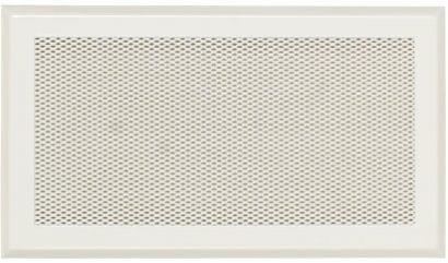 Ventilační mřížka SOLID 65×205 bez žaluzie bílá Karl