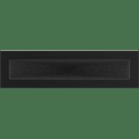 Krbová mřížka 11×42 černá Kratki