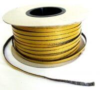 Skleněná krbová páska SUR/GK/G/P-8x2mm EBK Eret Bernard