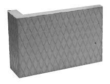 Akumulační deska s omítnutým povrchem – roh 45° Brula