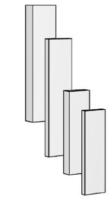 BRULApor deska 700×220×75 mm Brula
