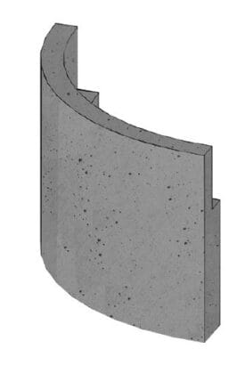BRULApor sokl radius R600 Brula