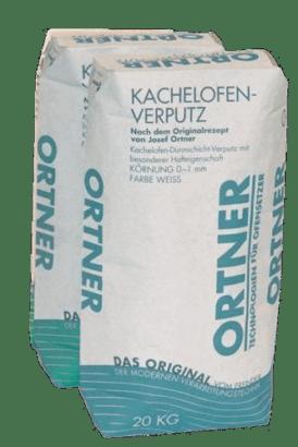 Kamnářská omítka Kachelofenverputz 0–1 mm Ortner