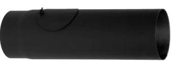 Trubka rovná s čistícím otvorem 150/1000/1,5 černá Silaterm