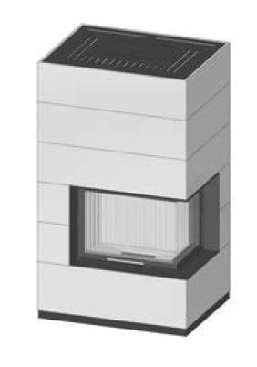 SIM Varia 2Rh-4S přírodní beton 1/2