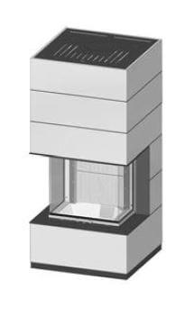 SIM Arte 3RL-60h-4S přírodní beton 1/3