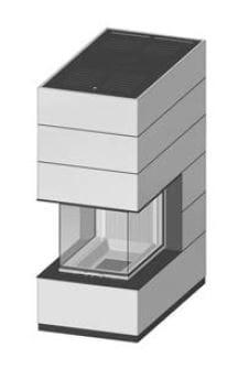 SIM Arte-U-70h-4S přírodní beton 1/3