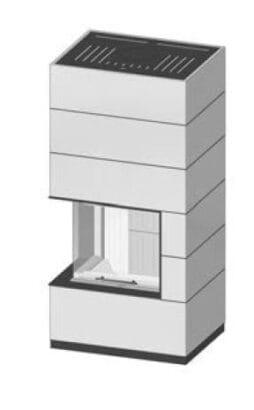 SIM Varia 2L-55h-4S přírodní beton 1/3