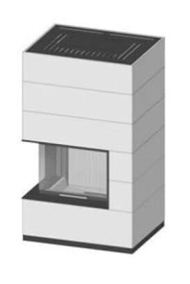 SIM Varia 2Lh H₂O-4S přírodní beton 1/3
