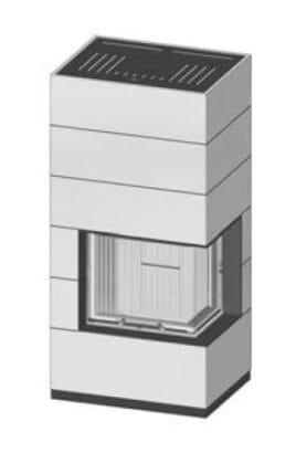 SIM Varia 2R-55h-4S RLU přírodní beton 1/3