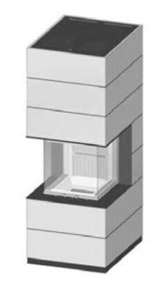SIM Arte-U-50h-4S jemný beton 2/3