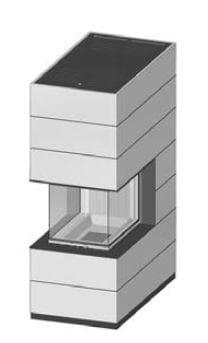 SIM Arte-U-70h-4S jemný beton 2/3
