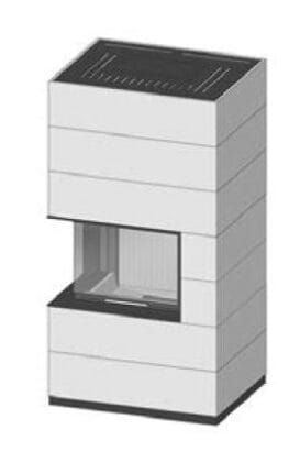 SIM Varia 2Lh-4S přírodní beton 2/3