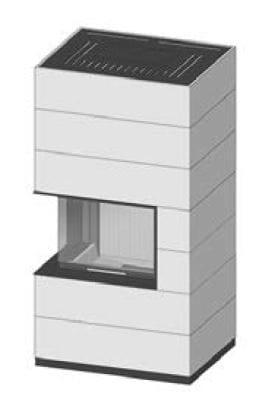SIM Varia 2Lh H₂O-4S přírodní beton 2/3