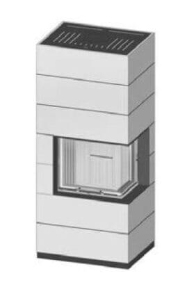 SIM Varia 2R-55h H₂O-4S přírodní beton 2/3