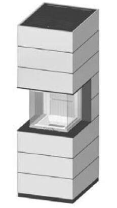 SIM Arte-U-50h-4S jemný beton 3/3