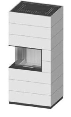SIM Varia 2Lh H₂O-4S přírodní beton 3/3