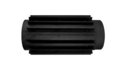 Teplovzdušný výměník 180/2 černý Stahl system