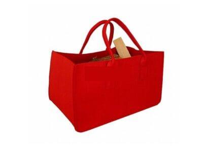 Filcová taška červená Lienbacher