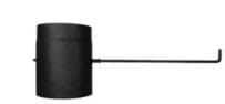 Trubka s klapkou – dlouhé táhlo 150/250/2mm černá Stahl system