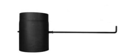 Trubka s klapkou – dlouhé táhlo 200/250/2mm černá Stahl system