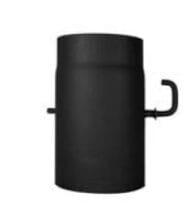Trubka s klapkou – krátké táhlo 120/250/2mm černá Stahl system