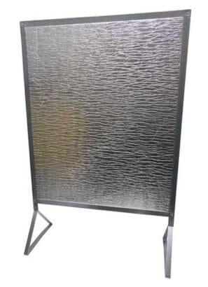 Zástěna REFLEX velká se stojánkem 920×610 mm Lienbacher