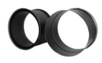 Zděř dvojitá 200/2 černá Stahl system