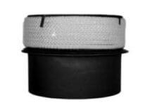 Redukce do keramických komínů 200/180/2 černá Stahl system